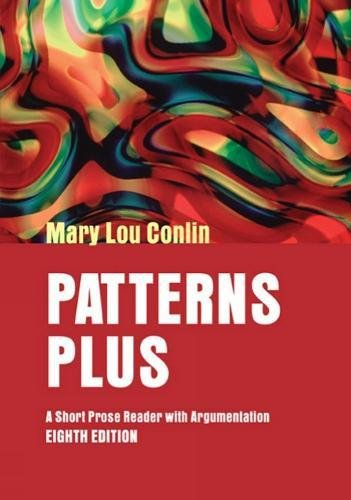 9780618421190: Patterns Plus: A Short Prose Reader with Argumentation