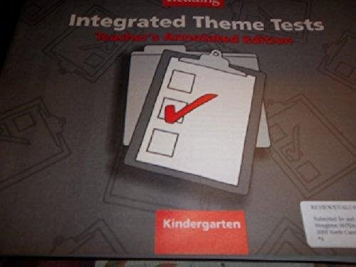9780618422142: Houghton Mifflin Reading: Integrated Theme Tests Level K
