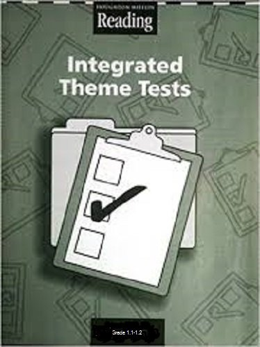 9780618422159: Houghton Mifflin Reading: Integrated Theme Tests Grade 1.1-1.2