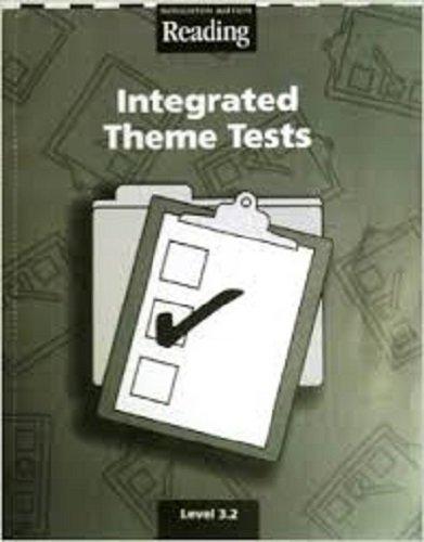 9780618422203: Houghton Mifflin Reading: Integrated Theme Tests Grade 3.2