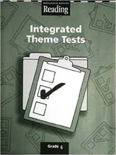 9780618422234: Houghton Mifflin Reading: Integrated Theme Tests Grade 6