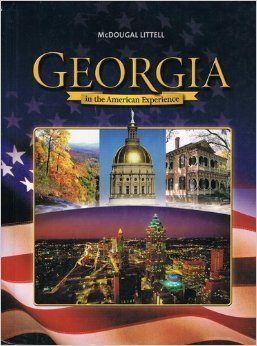9780618422487: McDougal Littell Georgia State American History Georgia: Student Edition Grades 6-8 2005