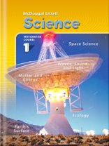 9780618422999: McDougal Littel Science, Integrated Course 1