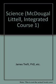9780618423002: McDougal Littell Science: Teacher's Edition Course 1 Integrated Science 2005