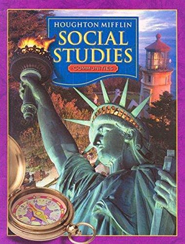 9780618423613: Houghton Mifflin Social Studies: Communities, Grade 3