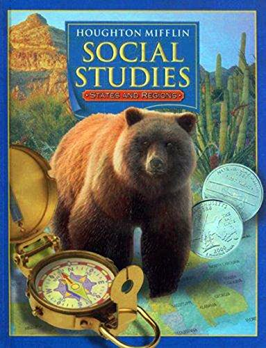 9780618423620: Houghton Mifflin Social Studies, Level 4: States and Regions- Student Book