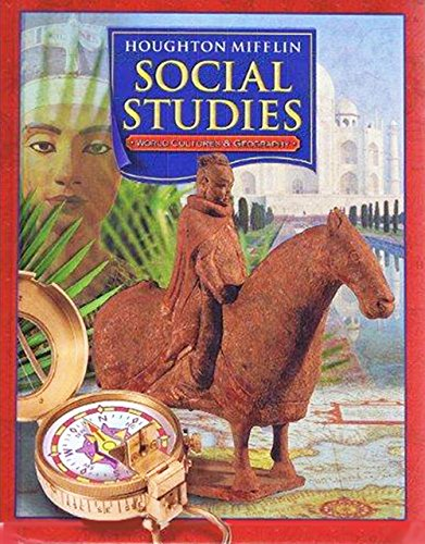 9780618423644: Houghton-Mifflin Social Studies: World Cultures And Geography (Sudent Edition)