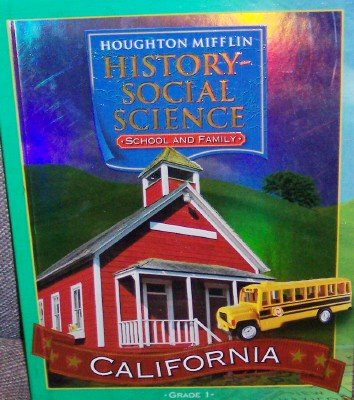 9780618423804: Houghton Mifflin Social Studies California: Student Edition Level 1 2007