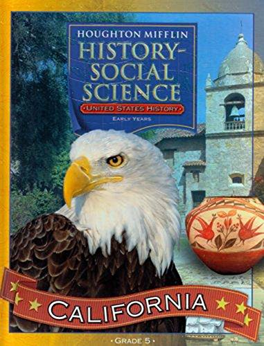 9780618423934: United States History: Early Years: Grade 5, History-Social Science California