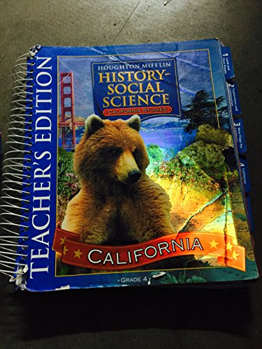 9780618424122: California Studies Teacher's Edition Level 4: California Edition