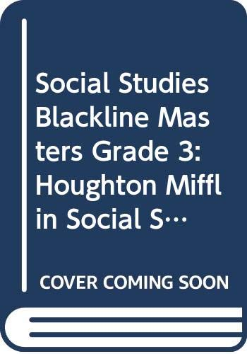 9780618424184: Houghton Mifflin Social Studies: My World Big Book Level K