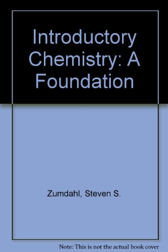 9780618424955: Introductory Chemistry: A Foundation