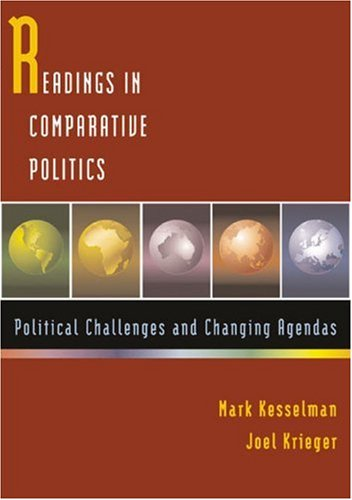 9780618426256: Readings in Comparative Politics: Political Challenges and Changing Agendas