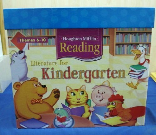 9780618426522: Houghton Mifflin Reading: Kindergarten Lit Box Th6-10