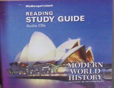 9780618427208: Modern World History: Patterns of Interaction: Reading Study Guide Audio CDs (English)
