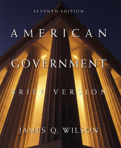 9780618427789: American Government: Brief Version