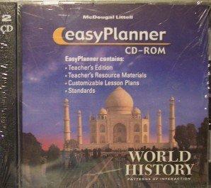 9780618428694: McDougal Littell World History: Patterns of Interaction: EasyPlanner CD-ROM Grades 9-12