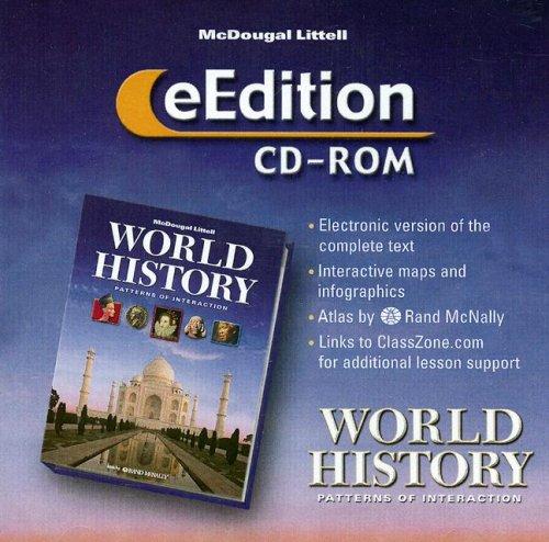 World History: Patterns of Interaction, E-edition CD-ROM: LITTEL, MCDOUGAL