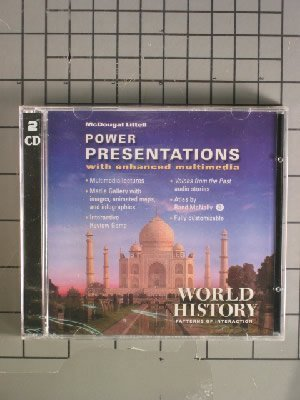 World History: Patterns of Interaction power presentations with enhanced multimedia: LITTEL, ...