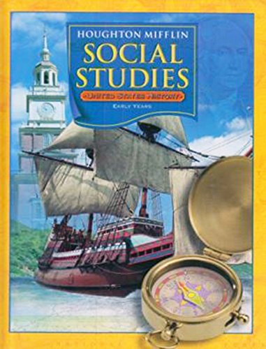 9780618428854: United States History Early Years (Level 5): Houghton Mifflin Social Studies