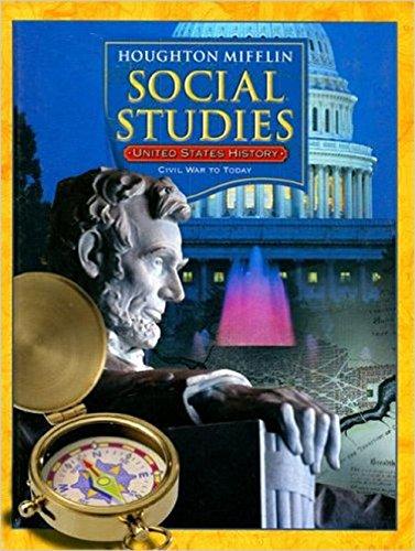 9780618428861: Houghton Mifflin Social Studies: United States History, Grade 5 - Civil War to Today