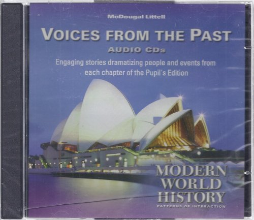 9780618431656: World History: Patterns of Interaction: Voices from the Past Audio CD-ROM (English/Spanish) Modern World History