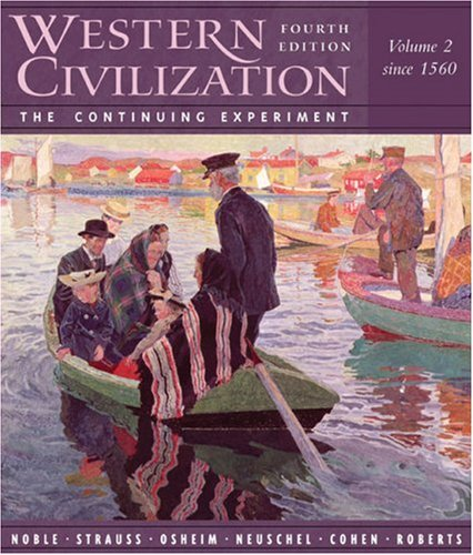 9780618432783: Western Civilization: The Continuing Experiment, Volume 2: Since 1560
