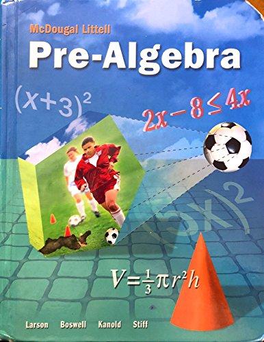 9780618433599: Pre-algebra Classroom Sample