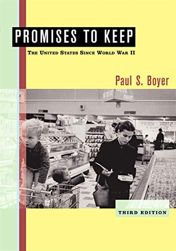 9780618433834: Promises to Keep: The United States Since World War II