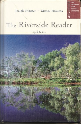 9780618433858: The Riverside Reader: For Advanced High School Students