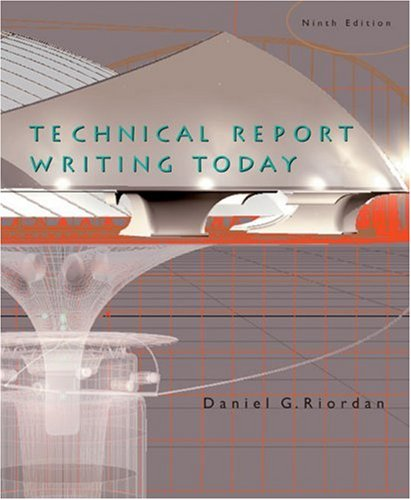 9780618433896: Technical Report Writing Today