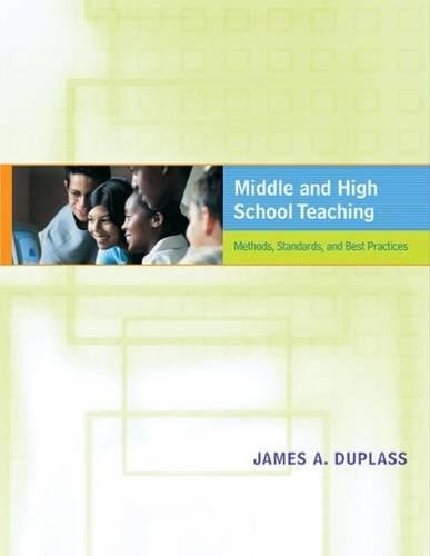 9780618435753: Middle and High School Teaching: Methods, Standards, and Best Practices
