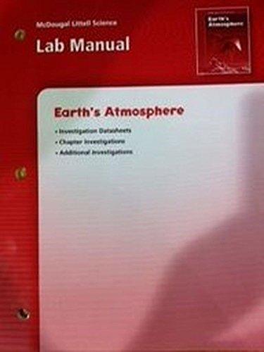 9780618437252: McDougal Littell Science: Earth's Atmosphere: Lab Manual