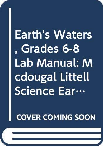 9780618437276: McDougal Littell Science: Earth's Waters: Lab Manual