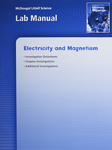 McDougal Littell Science: Electricity and Magnetism: Lab: MCDOUGAL LITTEL
