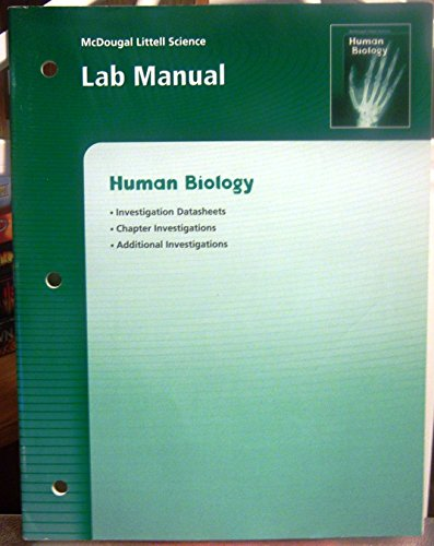 9780618437306: McDougal Littell Science: Lab Manual Grades 6-8 Human Biology (McDougal Littell Science: Human Biology)
