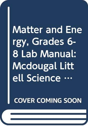 9780618437320: McDougal Littell Science: Matter and Energy: Lab Manual