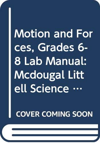 9780618437337: McDougal Littell Science: Motions and Forces: Lab Manual