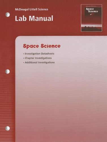 9780618437344: McDougal Littell Science: Space Science: Lab Manual