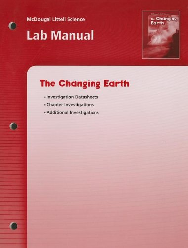McDougal Littell Science: The Changing Earth: Lab: LITTEL, MCDOUGAL