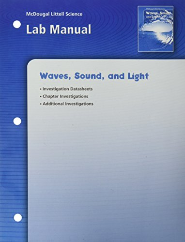 9780618437368: McDougal Littell Science: Waves, Sound & Light: Lab Manual
