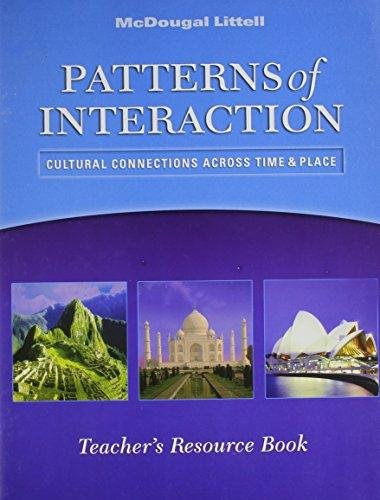 9780618437832: McDougal Littell World History: Patterns of Interaction: Patterns of Interaction Video Teacher's Resource Book