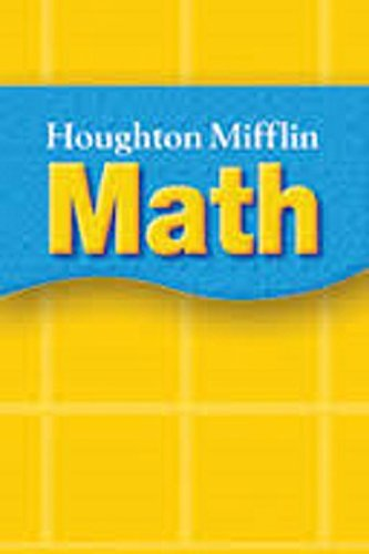 9780618438198: Houghton Mifflin Math © 2005: Student Book with Homework Book Grade 5 2005