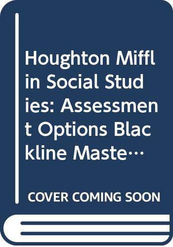 9780618438464: Houghton Mifflin Social Studies States and Regions Assessment Options grade 4