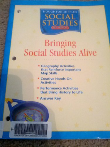 9780618438488: Houghton Mifflin Social Studies: Bringing Social Studies Alive Grade K My World