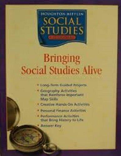 9780618438518: Houghton Mifflin Social Studies: Bringing Social Studies Alive, Grade 3- Communities