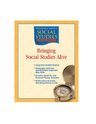 9780618438525: Houghton Mifflin Social Studies: Bringing Social Studies Alive Grade 4 States and Regions