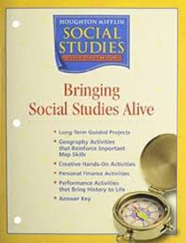 9780618438532: Houghton Mifflin Social Studies United States History Civil War To Today Bringing Social Studies Alive Teacher's Resource Book 1-57345-B
