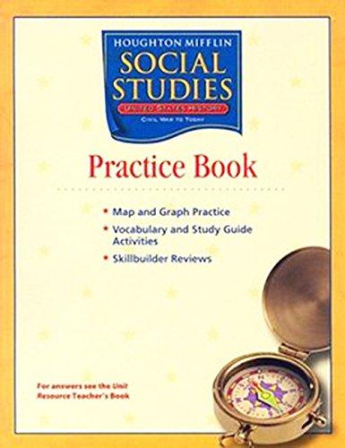 9780618441747: Houghton Mifflin Social Studies: Practice Book Volume 1 Level 5 US History: Early Years