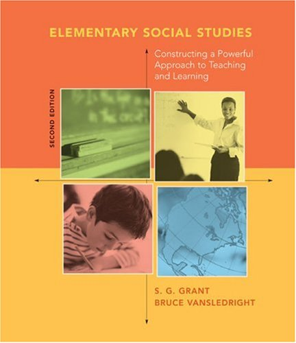 9780618443604: Elementary Social Studies: Constructing a Powerful Approach to Teaching and Learning